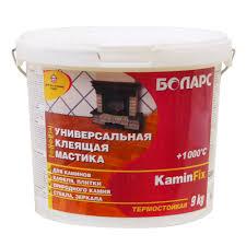 <b>Мастика клеящая</b> термостойкая KaminFix Боларс ведро 9 кг ...