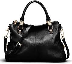 Big Sale-AINIMOER <b>Womens Soft Vintage</b> Genuine Leather Tote ...
