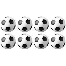 <b>8 Pcs</b>/Set Indoor <b>Soccer Table Foosball</b> Replacement Ball Football ...