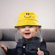 Presents Choice - Baby <b>Hat</b> with <b>Removable</b> Full <b>Face Shield</b> ...