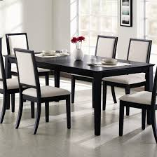 Tall Dining Room Sets Wood Dining Table White Furniture White Chairs Top Decor Dining