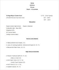 student resume template –    free samples  examples  format    sample academic resume template