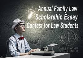 annual family law scholarship essay contest for law students