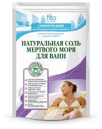 Fito косметик Санаторий дома Натуральная <b>соль Мертвого моря</b> ...