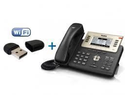 IP-телефон с Wi-FI адаптером <b>Yealink</b> WF40 <b>Yealink SIP</b>-<b>T27G</b> ...