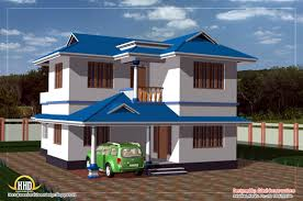 Kerala home design and floor plans  sq feet bedroom single    Duplex house elevation   square meters   Sq  Ft     February