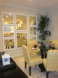 no window try a mirror collage totally opens up the room bright basement work space decorating