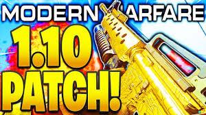 MODERN WARFARE 1.10 PATCH NOTES! .357 NERF, RIOT ...