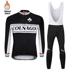 <b>2020</b> colnago Winter <b>cycling</b> clothing <b>Bike Windproof</b> thermal fleece ...