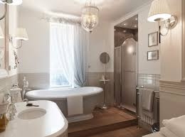 image bathtub decor: bathroomappealing tiny bathroom decor idea with white bath curtains and mosaic tile floor incredible