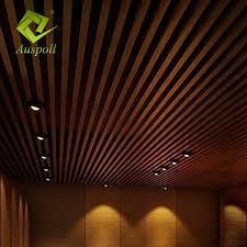 China <b>New Arrival</b> Wood Grain Aluminum <b>U</b>-<b>Shape</b> Square Tube ...