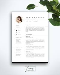 resume template page cv template cover letter instant business cards welcome to fortunelle resumes in our shop you can get high quality modern and elegant cv templates that are drawn by professional designer