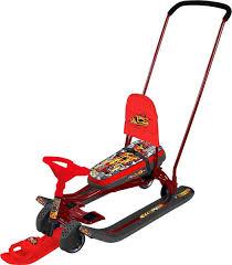 <b>Снегокат Nika</b> Тимка спорт, <b>ТС6</b>, красный