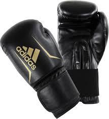 Боксерские <b>перчатки Adidas Speed 50</b> золотистые/черные 12 ...