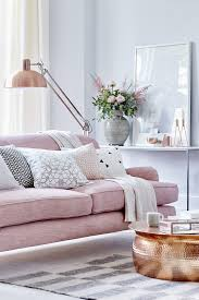 couch bedroom sofa: layer soft rose pink with grey living room design