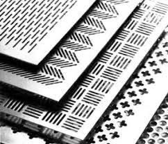 <b>Перфорированный алюминиевый лист</b>.