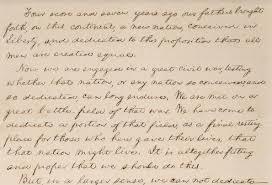 「abraham lincoln gettysburg speech」の画像検索結果