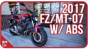 2017 <b>Yamaha FZ</b>-<b>07</b> with ABS (<b>MT</b>-<b>07</b>)   First Ride - YouTube