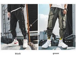 <b>hip</b> hop <b>men</b> pantalones hombre kpop casual <b>cargo pants</b> many ...