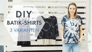 DIY Batik Shirts » 3 coole Batik-Techniken zum Selbermachen ...