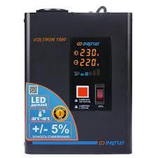 Купить <b>Стабилизатор</b> напряжения <b>Энергия Voltron 1500</b> (Е0101 ...