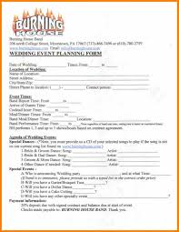 wedding planner contract monthly budget forms 7 wedding planner contract