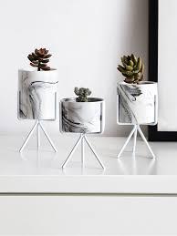 Buy 1Pc Flower Pot <b>Simple</b> Modern <b>Style Creative</b> Home Decor ...