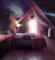 dreamy attic bedrrom with clever lights attic lighting ideas