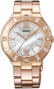 Японские наручные <b>часы Orient QC0D001W</b> женские кварцевые
