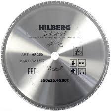 <b>Диск</b> пильный по стали <b>TRIO</b>-<b>DIAMOND Hilberg</b> Industrial 350 х ...