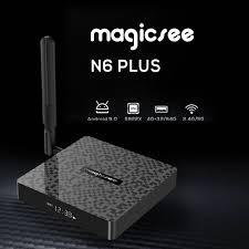 <b>Magicsee N6 Plus</b> Smart <b>Android</b> 9.0 TV Box Amlogic S922X UHD ...