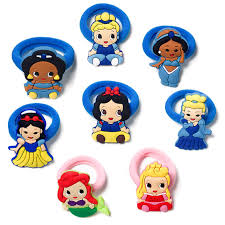 Online Shop 4pcs/lot Princess Girls Hair Bands Clips Soft Fabric ...
