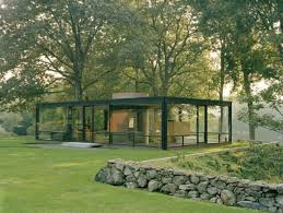 Inspiration Point  Philip Johnson    s Glass House   Garden DesignGlass House Garden Design Calimesa  CA  A view of Philip Johnson    s