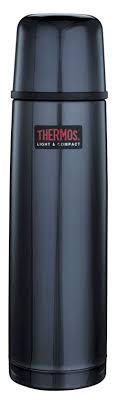 <b>Термос THERMOS</b> FBB-750MB Stainless SteeL Flask, <b>0.75л</b>, синий