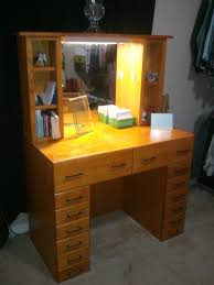 brown top makeup table with mirror agreeable design mirrored closet
