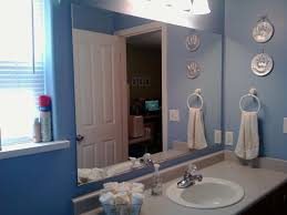 diy framing bathroom mirror