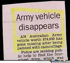 The Australian Army: Because Not Everyone Can Win In War by ... via Relatably.com