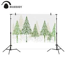 <b>Allenjoy photography background Christmas</b> green tree snow kids ...