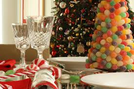 outstanding design ideas of christmas party centerpiece with colorful tree candy and canes also red white office amazing office interior design ideas youtube