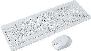 Купить Комплект (<b>клавиатура</b>+<b>мышь</b>) <b>HP</b> C2710, белый в ...