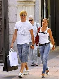 Fernando Torres with beautiful, Wife Olalla Dominguez