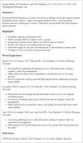 resume templates public relations assistant pr resume template