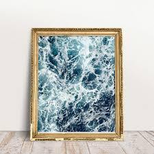 Ocean <b>Print Beach Print Ocean Wave Print</b> Waves <b>Print</b>   Etsy