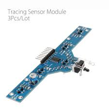 3pcs/lot <b>Five Road Tracing Module</b> Tracing Sensor Module 5 ...