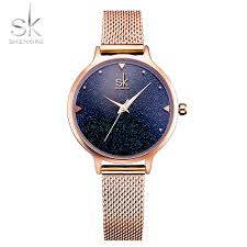 <b>SHENGKE Fashion</b> Elegant Quarts <b>Women</b> Watch Rose Gold ...