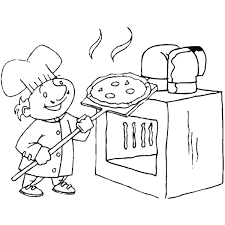 Small Picture Pizza Coloring Pages Birthday Printable