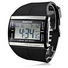 Electronic <b>Watches</b> Waterproof Fashion Sport LCD Digital <b>Watch</b> ...