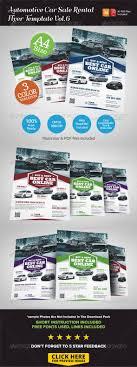 automotive car rental flyer ad vol 6 car s cars and flyers