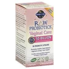 Garden of Life <b>Raw Probiotics Vaginal</b> Care, Vegetarian Capsules