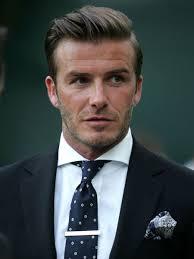 ... David Beckham - side parting - David-Beckham-4